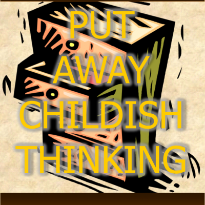 Childish Thinking DVD Cover front